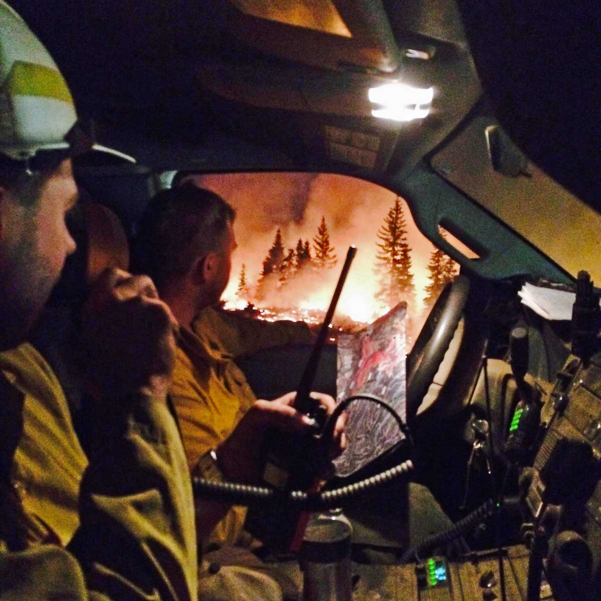 Review of the 2015 wildfire season in the Northwest