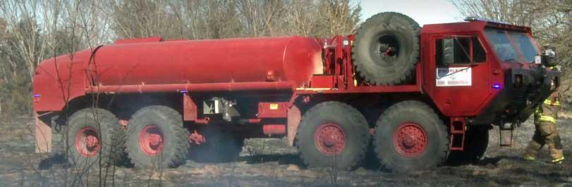 HEMTT fire truck