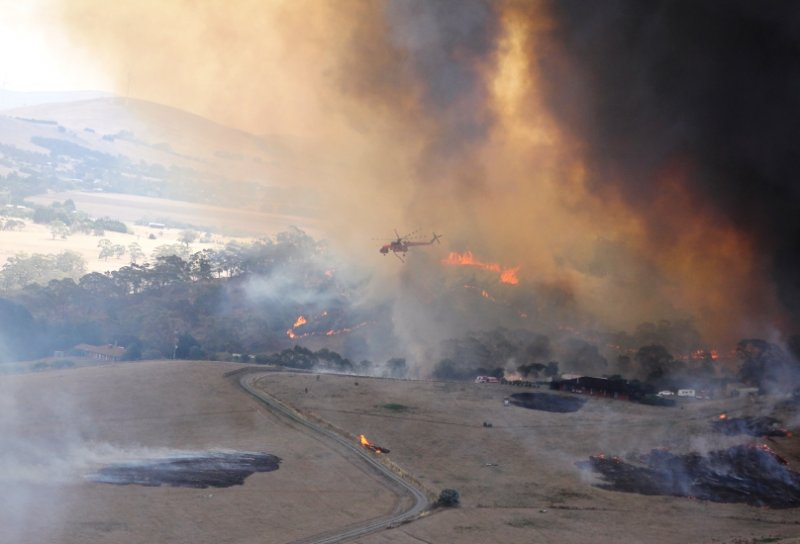 Mt Bolton Fire Victoria CFA