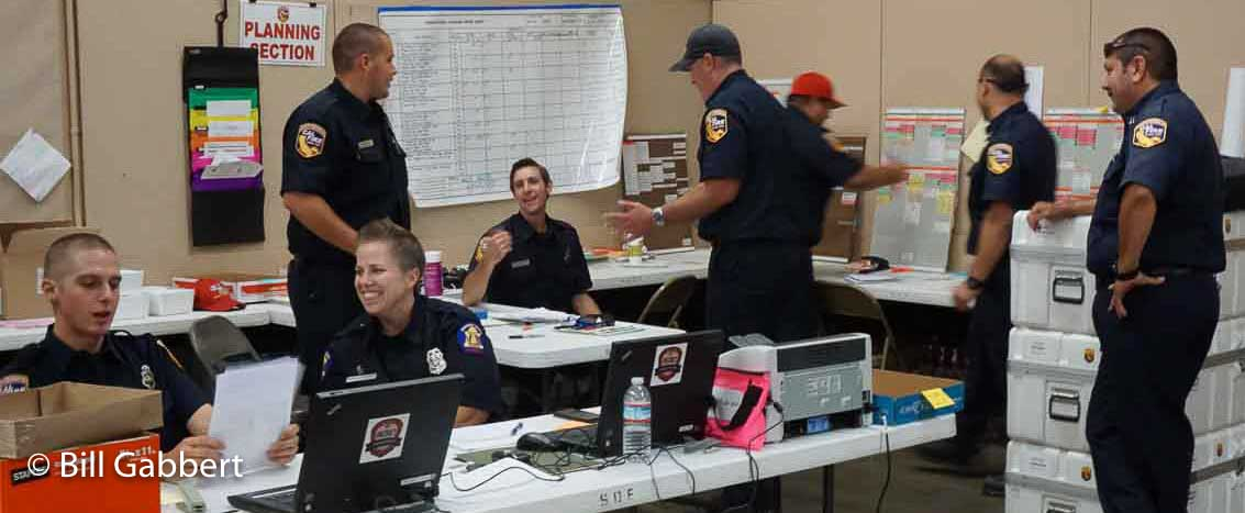 Communication during wildfire incidents