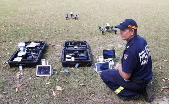 FRNSW drone
