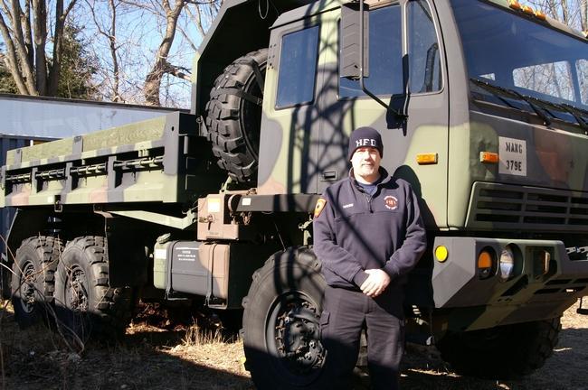Hubbardston Mass mil surplus truck