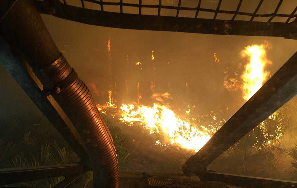 Wildfire in Martin County, Florida burns 136 acres