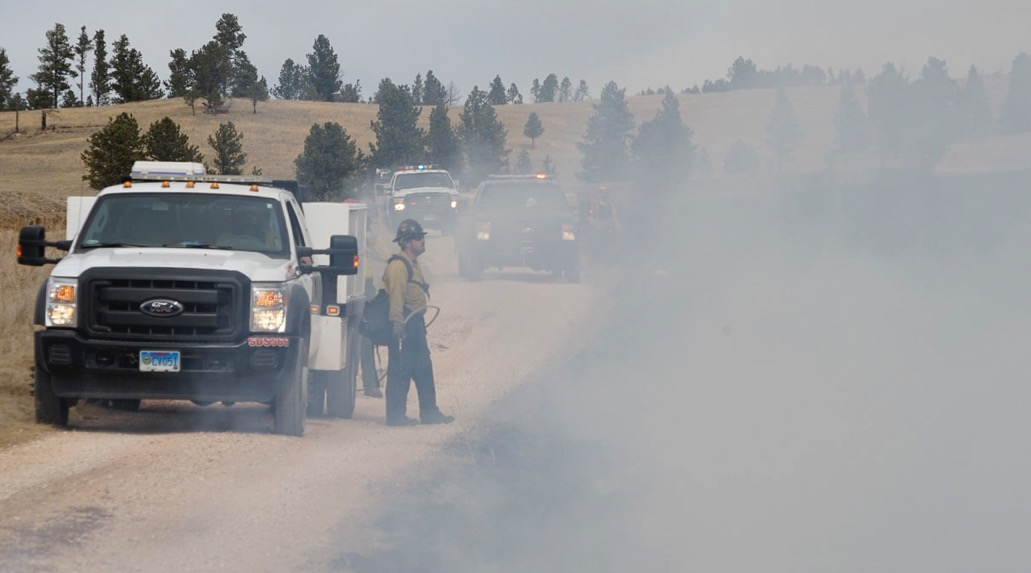 Wildland fire emissions worse in polluted areas