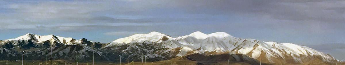Utah mountain Salt Lake City snow