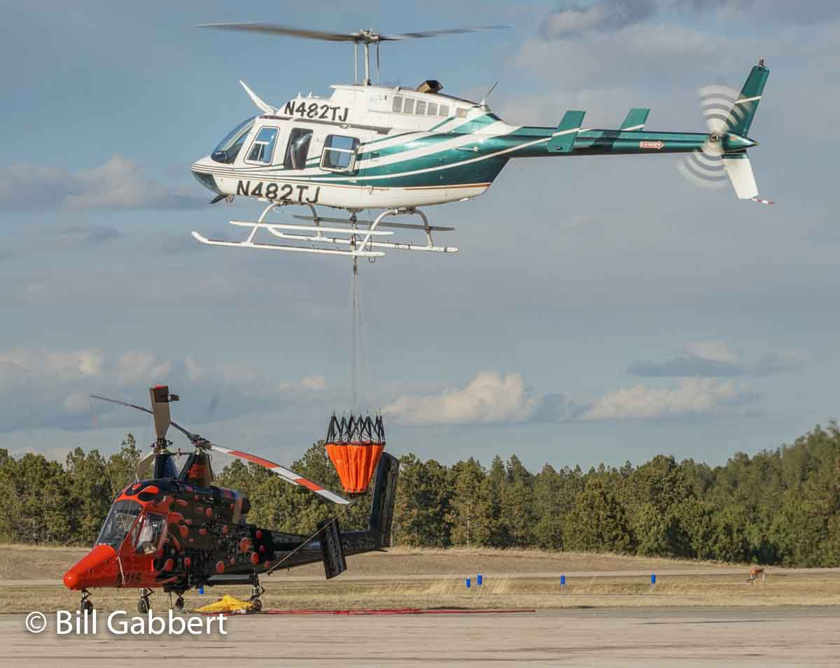 Bell 204L4 K-MAX helicopter