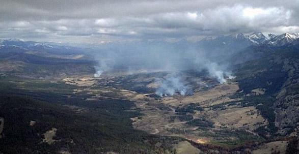 Elk Hills Fire Montana