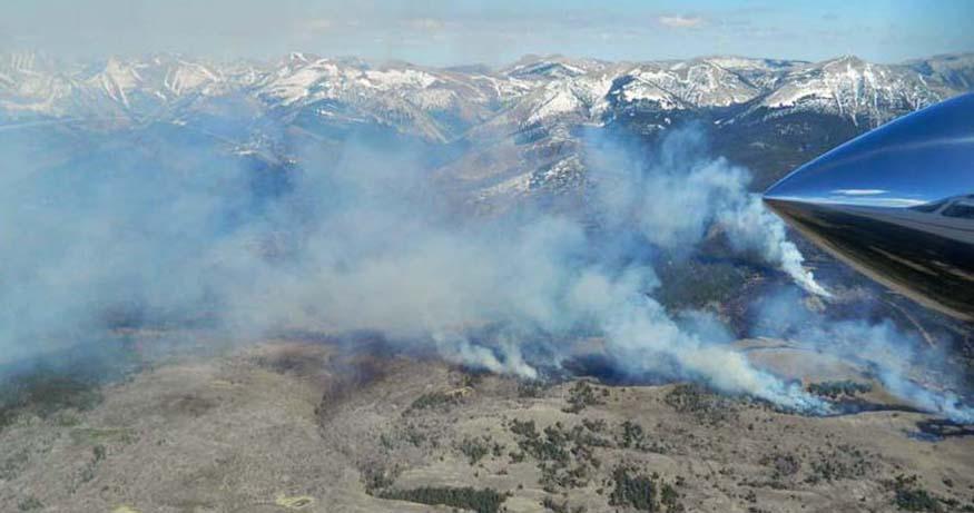 Elk Hills Fire.