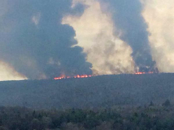 fire Ellenville
