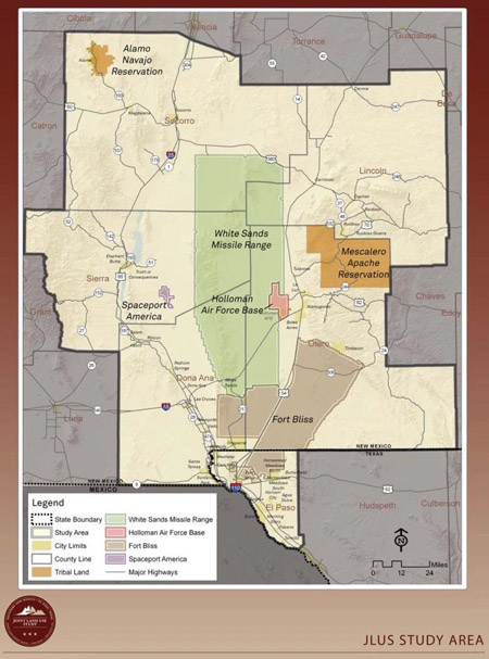Ft Bliss map