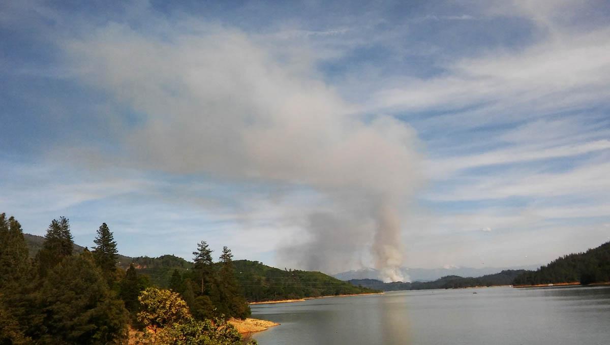 Green Mountain prescribed fire