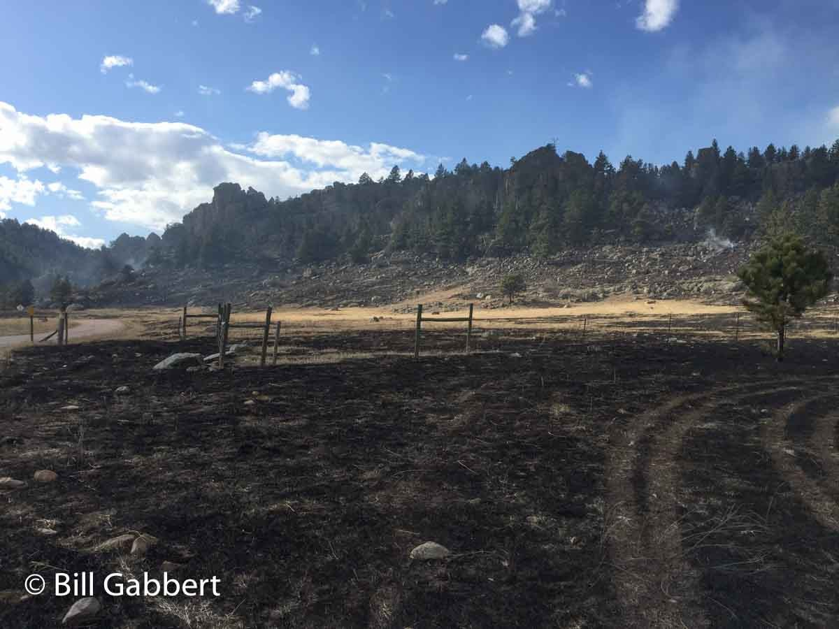 Photos of the Cold Fire in the Black Hills