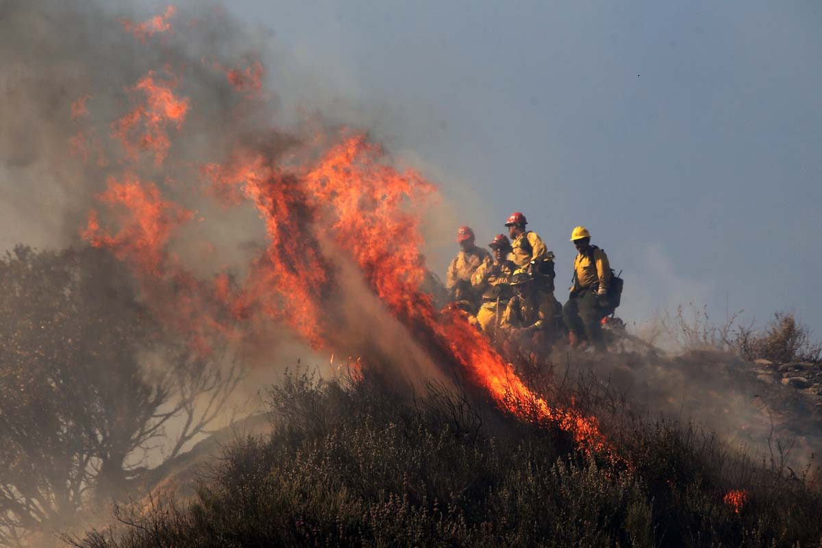 Casitas Fire