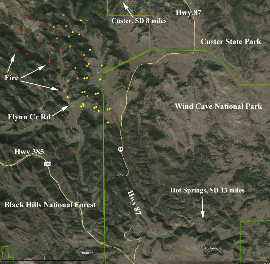 Map Cold Fire 242 Am 4 4 2016 Wildfire Today