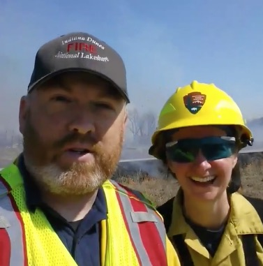 prescribed fire video live