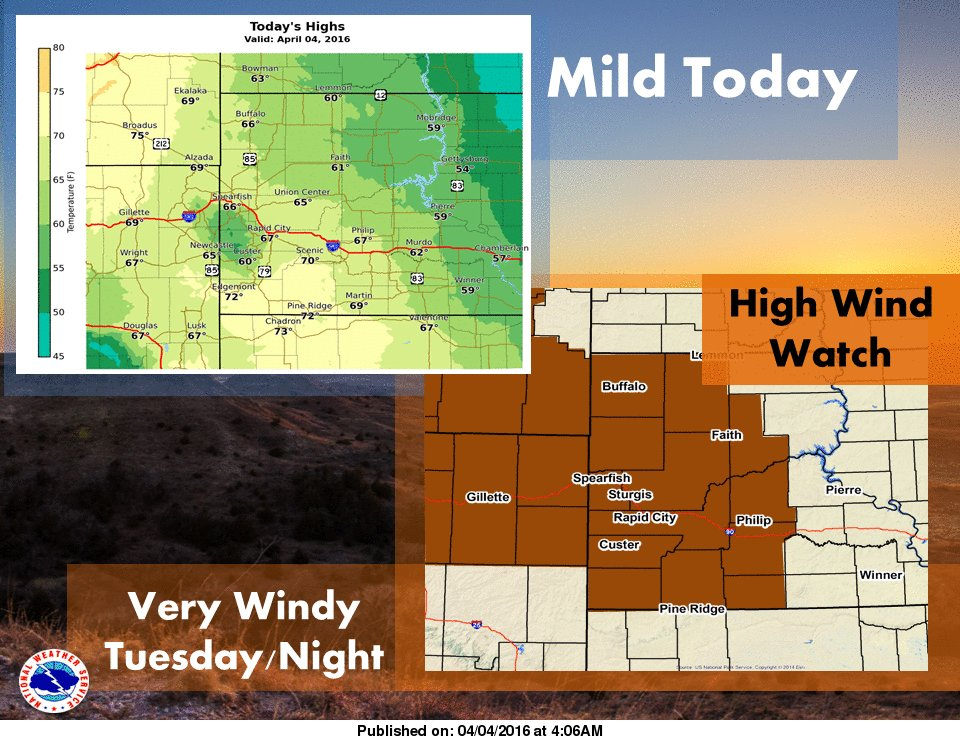 Wind watch Tuesday