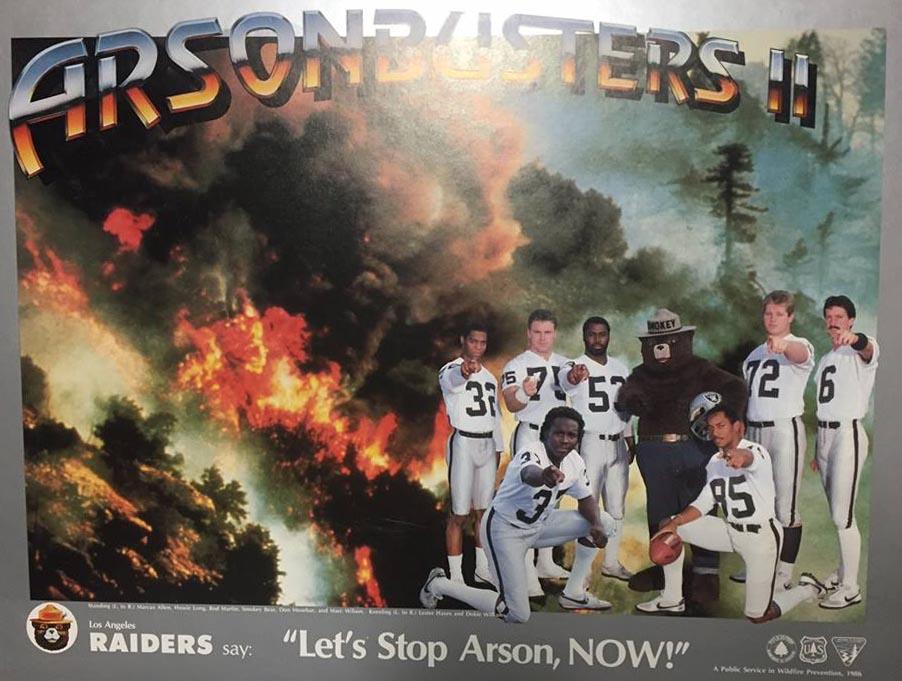Arson Busters Raiders 1986