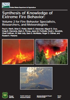 Synthesis knowledge extreme wildfire behavior