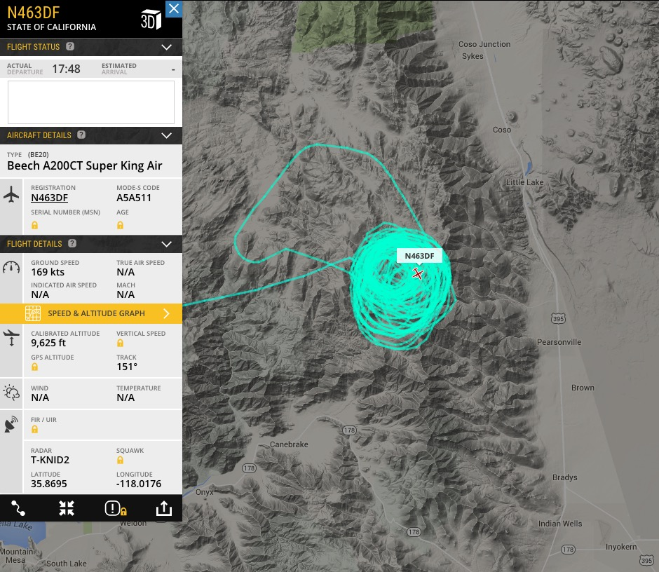 CAL FIRE Air Attack N463DF