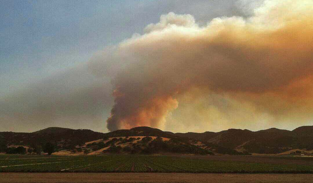 Coleman Fire 6-4-2016 USFS photo
