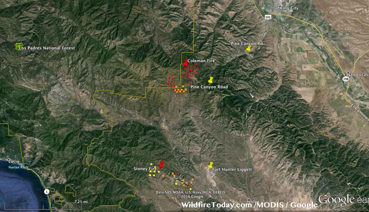 2016 California Fire Map | fysiotherapieamstelstreek on