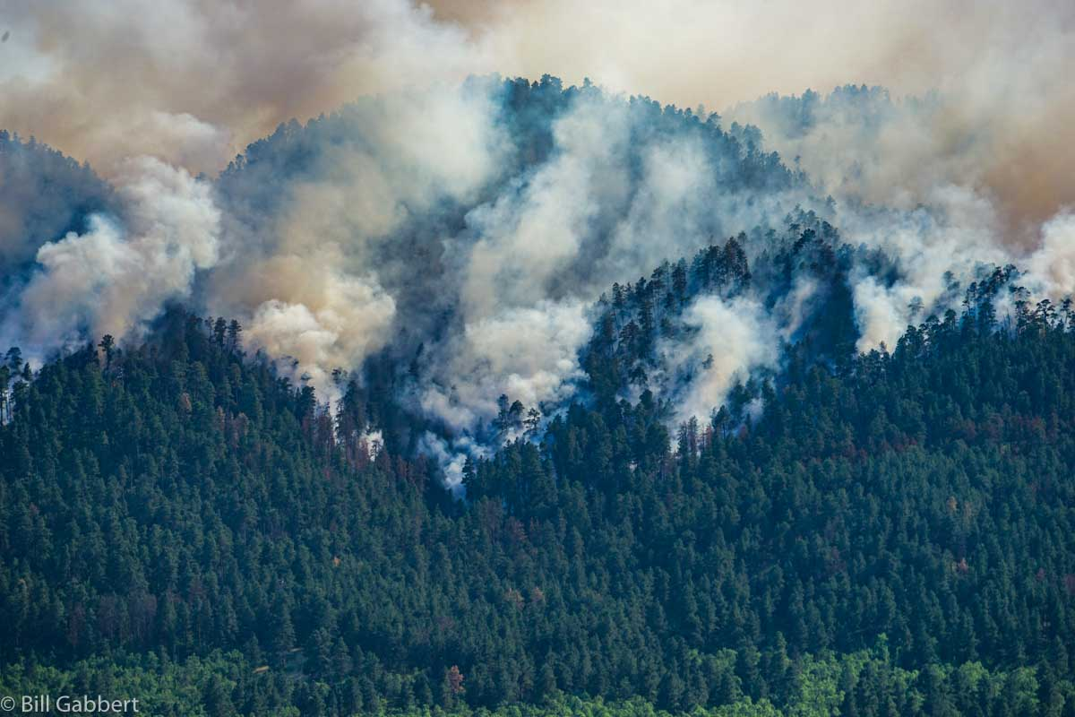 Crow Peak Fire