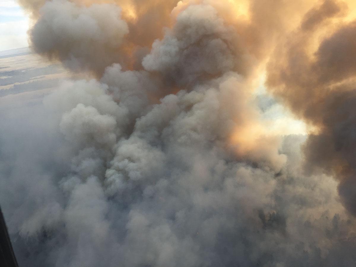 Douglas Fire photo gallery