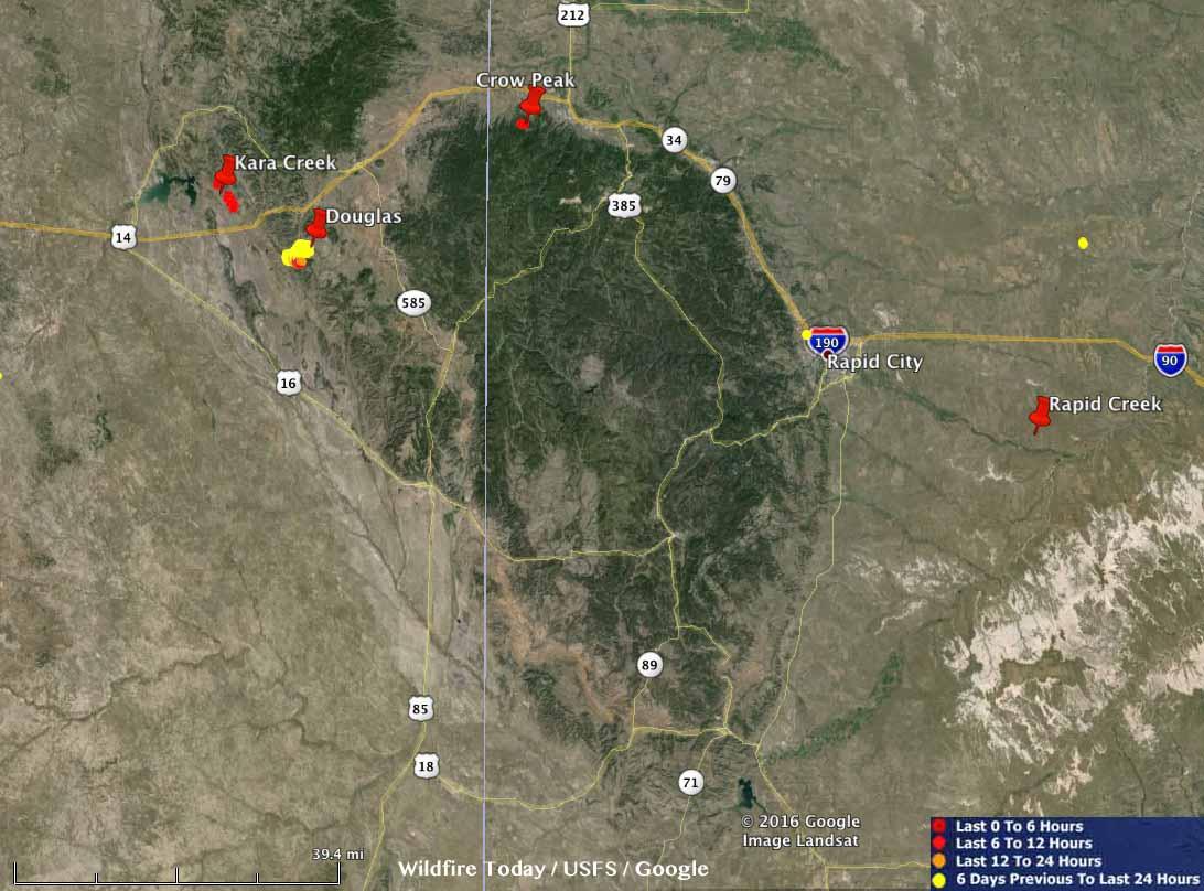 Fires Black Hills
