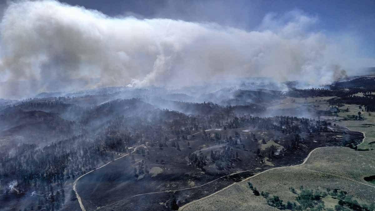 Black Hills: Kara Creek and Crow Peak Fires