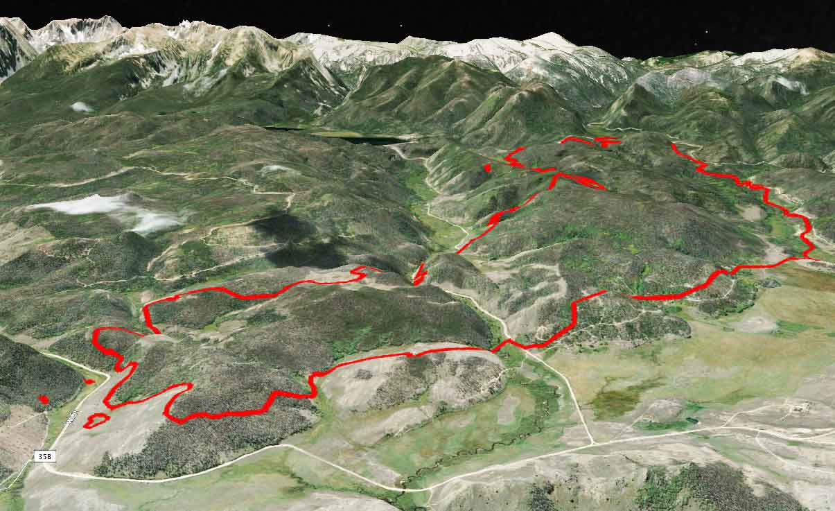 Beaver Creek Fire Archives Wildfire Today - Beavercreek trail map