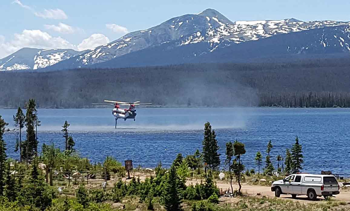 Beaver Creek Fire Chinook