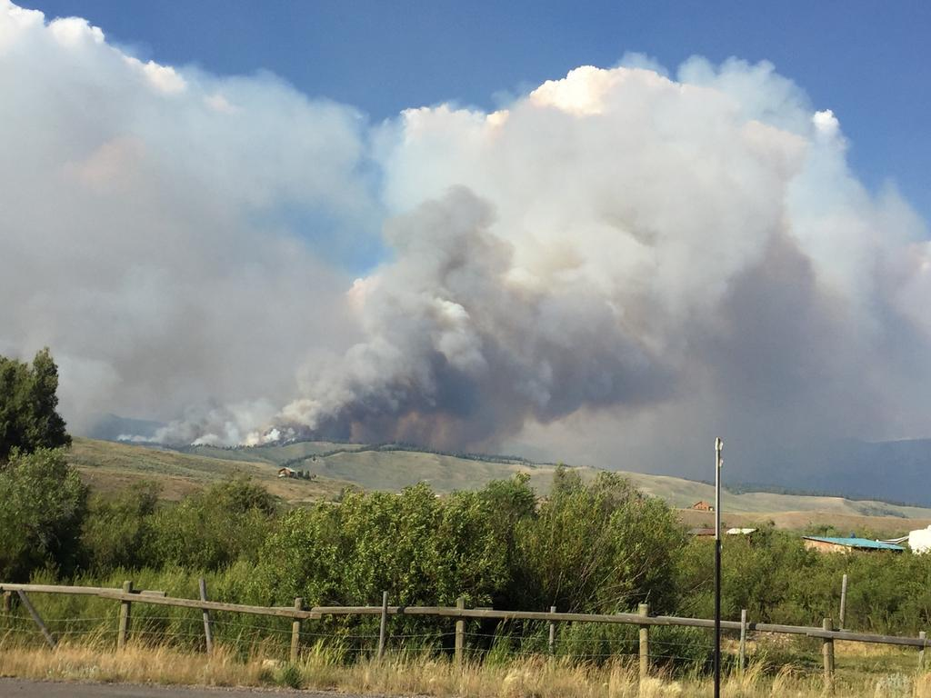 Cliff Creek Fire