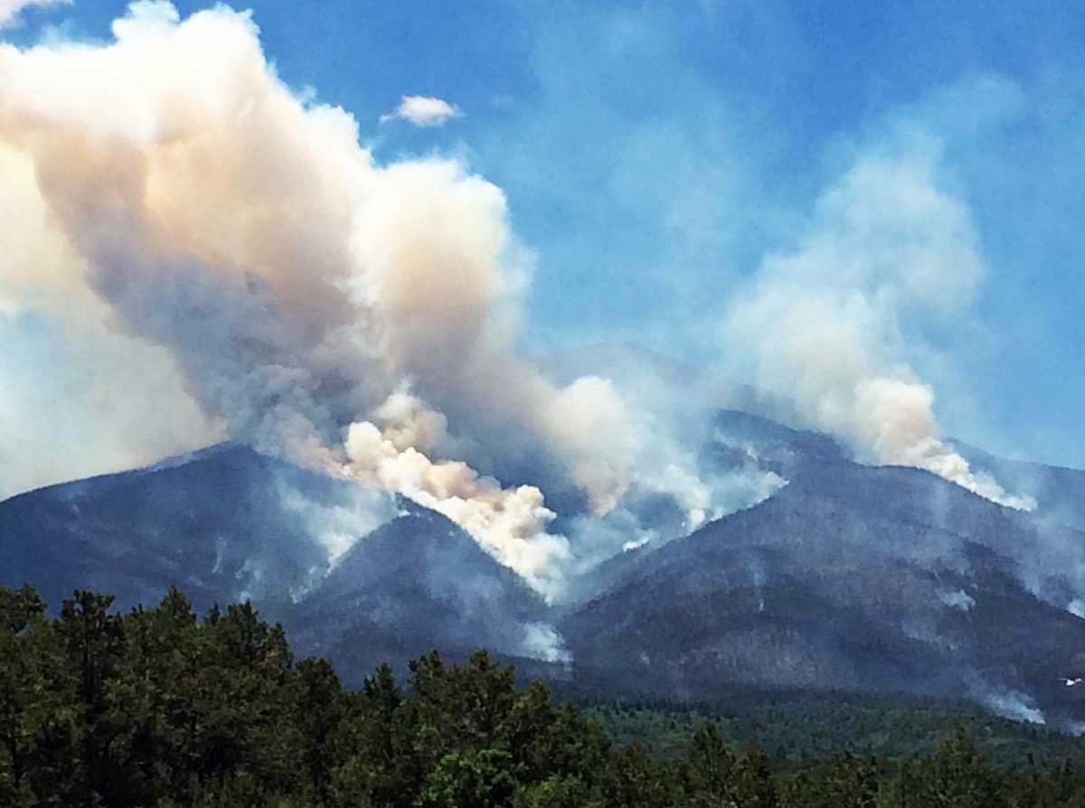 Hayden Pass Fire