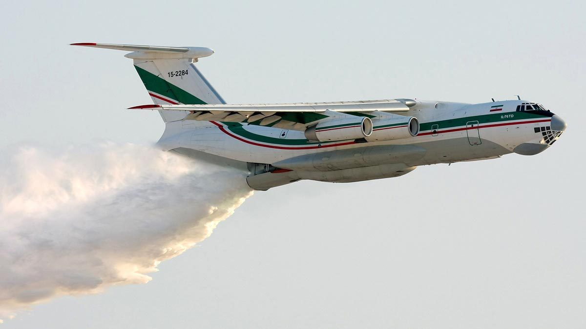 Russian air tanker missing while fighting wildfire in Siberia