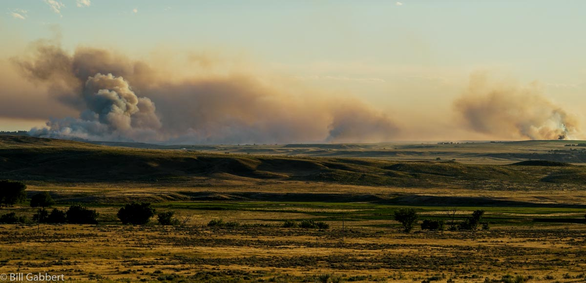 Indian Canyon Fire at 7:55 p.m. MDT July 16, 2016