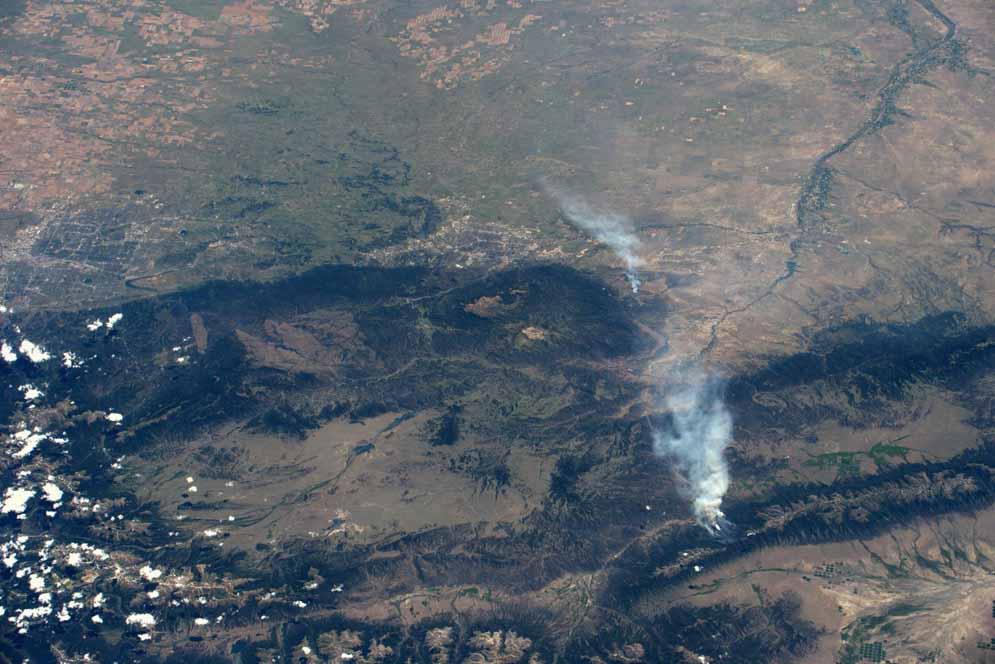 Jeff Williams Hayden Pass Fire
