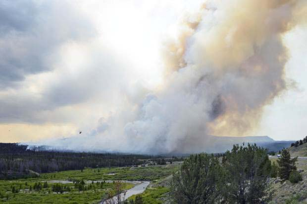 Lava Mountain Fire