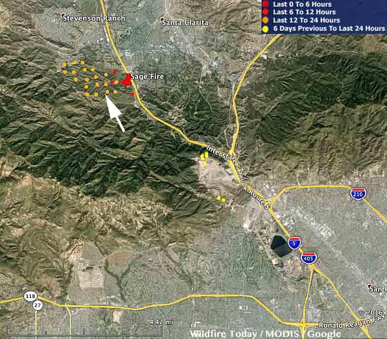 Map Sage Fire