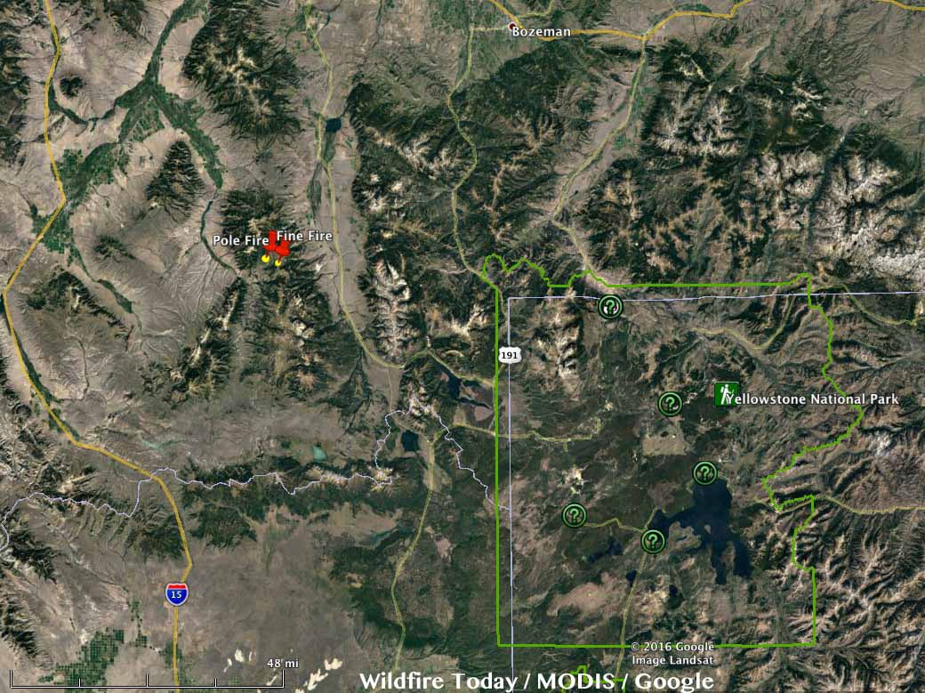 Montana Fire Map 2016.Wildfire Today Page 244 Of 1345 News And Opinion About Wildland Fire