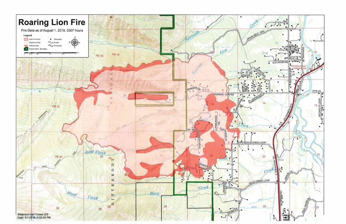 map Roaring Lion Fire