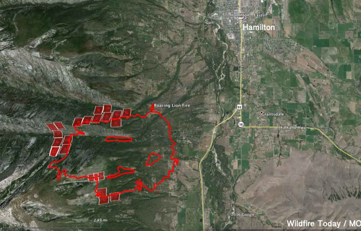 Montana Fire Map 2016.Montana Archives Page 12 Of 29 Wildfire Today