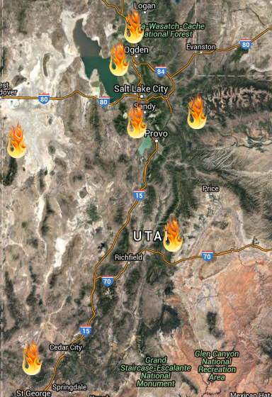 West Antelope Fire  Wildfire Today