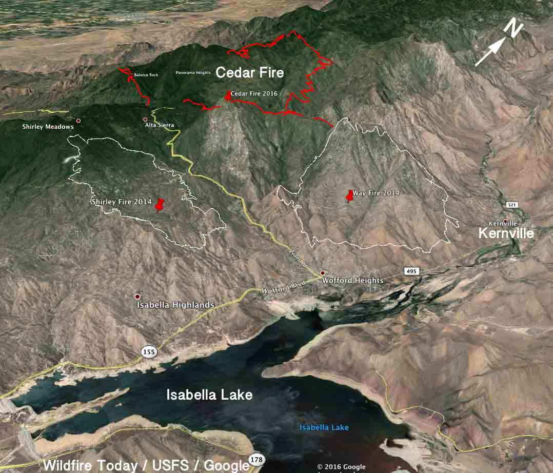 Lake Isabella Fire Map.Uncategorized Archives Page 220 Of 1337 Wildfire Today