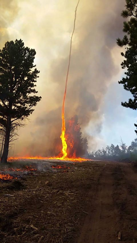 fire whirl beaver creek fire