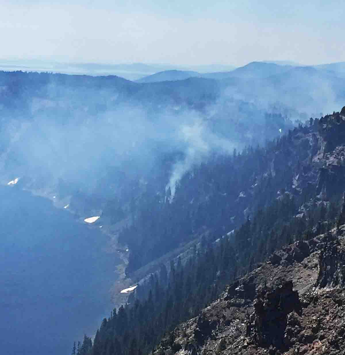 Bybee Creek Fire