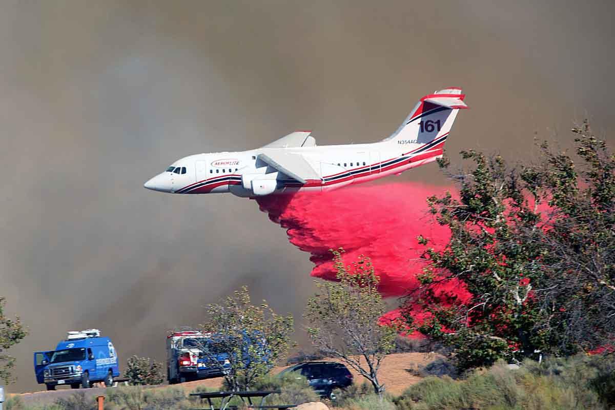 Pilot Fire RJ85