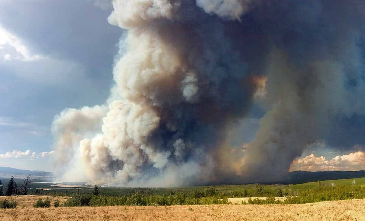 Five wildfires burning in Yellowstone and Grand Teton National Parks