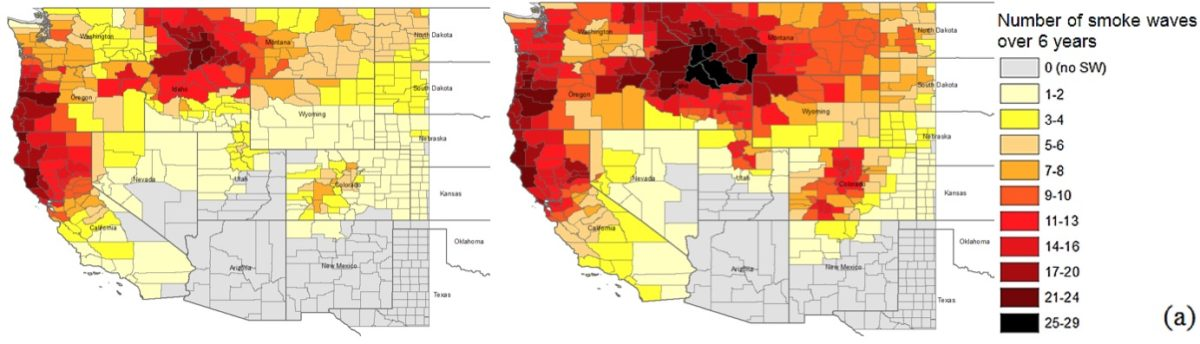 Researchers predict impacts of wildfire smoke after climate change