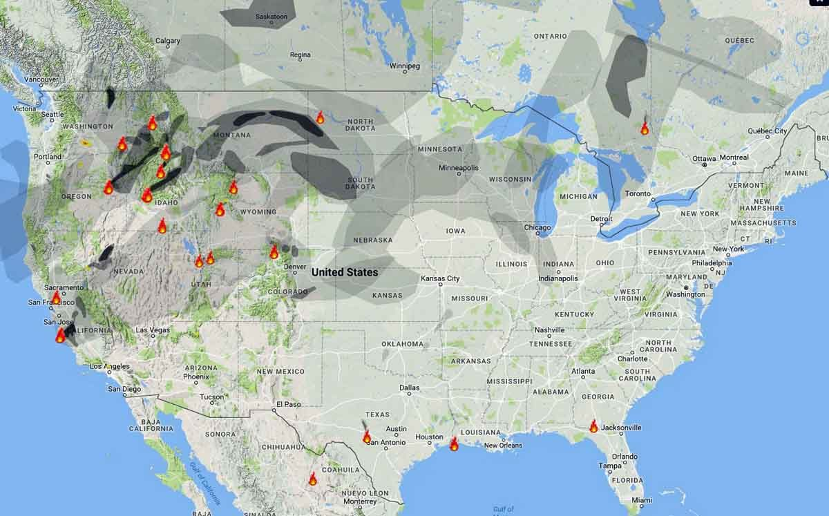 wildfire smoke map august  . wildfire smoke map and red flag warnings august