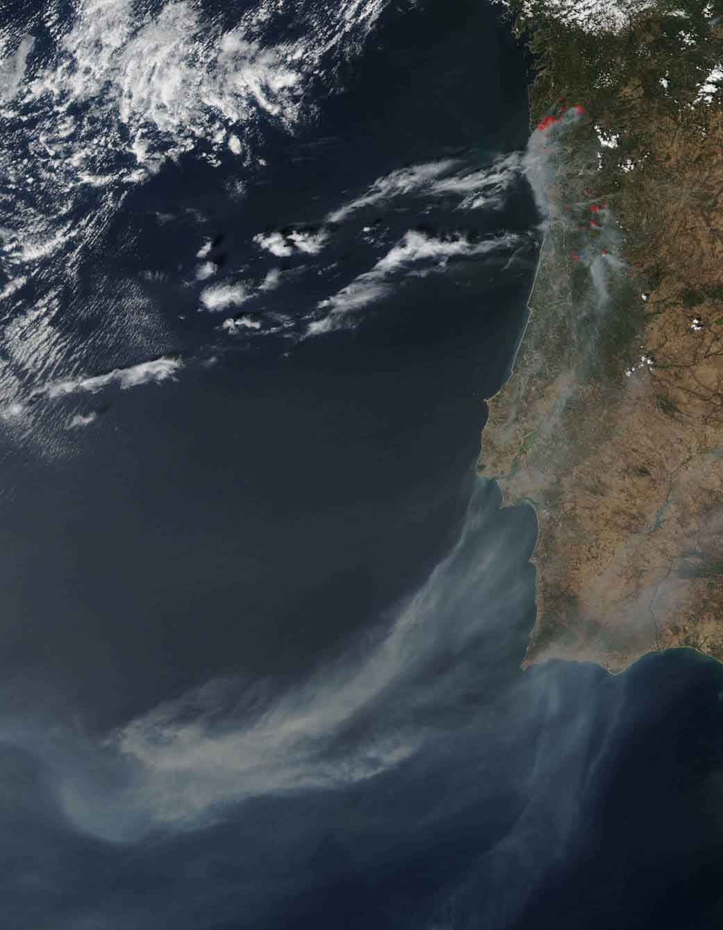 Wildfires in Portugal
